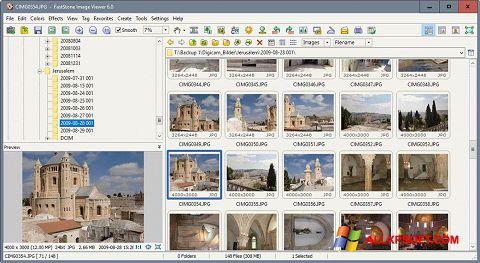 צילום מסך FastStone Image Viewer Windows XP