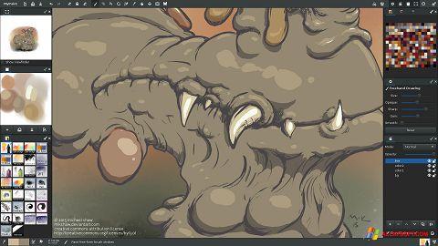 צילום מסך MyPaint Windows XP