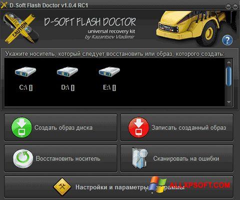צילום מסך D-Soft Flash Doctor Windows XP