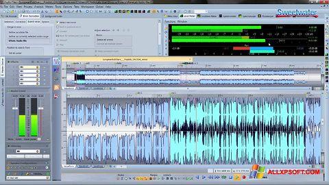 צילום מסך WaveLab Windows XP