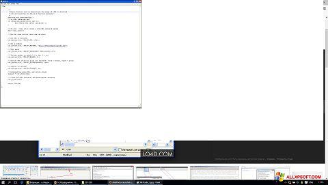 צילום מסך AkelPad Windows XP