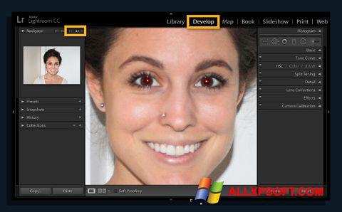 צילום מסך Red Eye Remover Windows XP