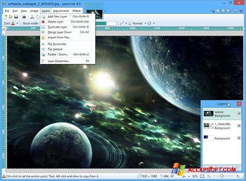 צילום מסך Paint.NET Windows XP